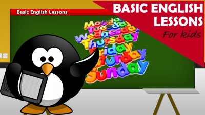 English lessons for the little children