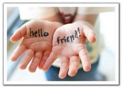 Teens club: Hello friend!
