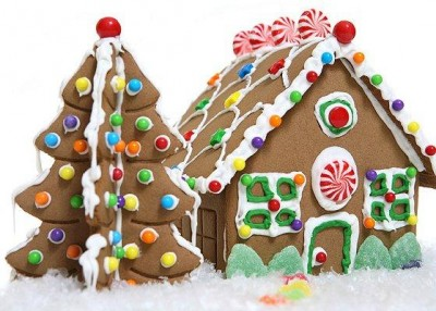 Kid Lab: Gingerbread Houses