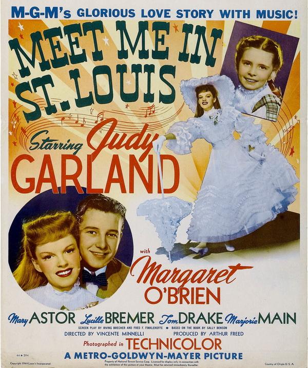 """Film Showing: """"Meet Me in St. Louis"""" (1944, 113 min.)"""