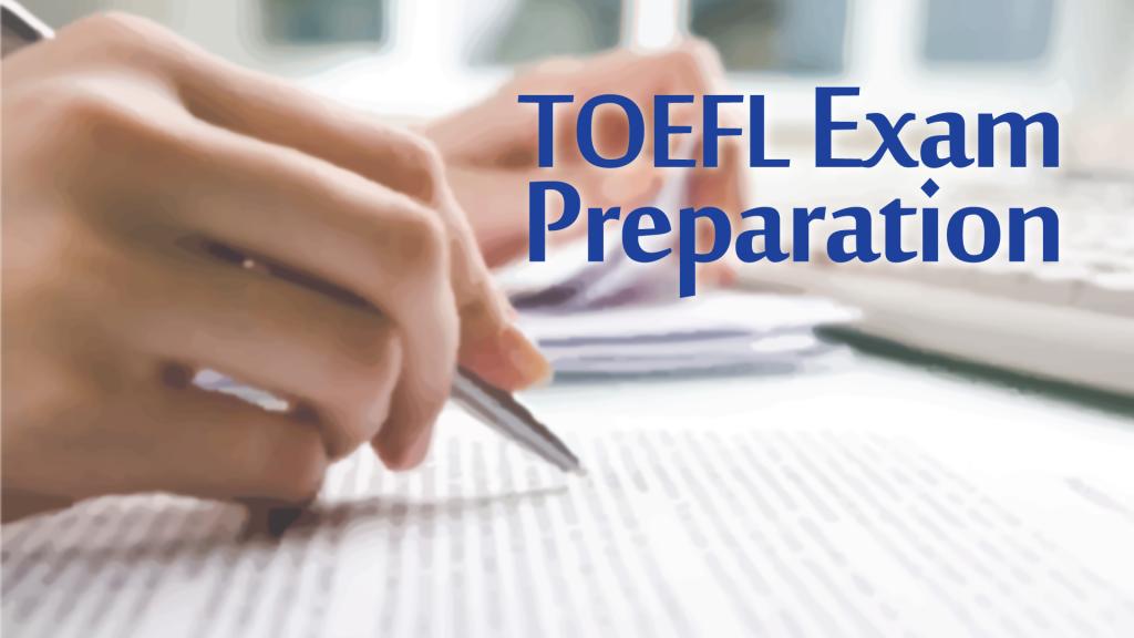 Preparation for TOEFL