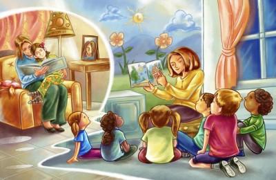 Чтение для детей на английском