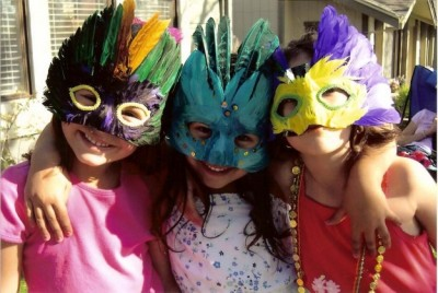 Детский Клуб : «Празднуем Марди Гра»