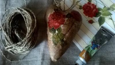 """Workshop """"St. Valentine's Day gift"""""""