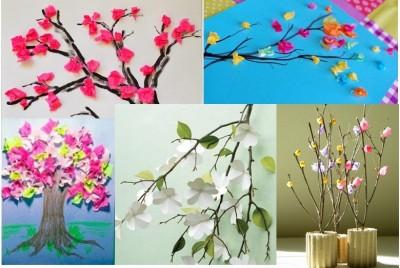 "Kid Lab: ""Blossom Tree Crafts"""