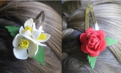 "Kid Lab: ""Foam decorative hair clips"""