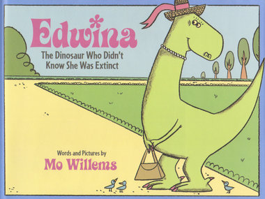 "Reading For Kids: ""EDWINA The Dinosaur Who Didn't Know She Was Extinct"" by Mo Willems"