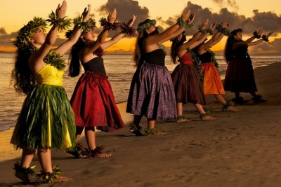 Гавайский танец «Хула»