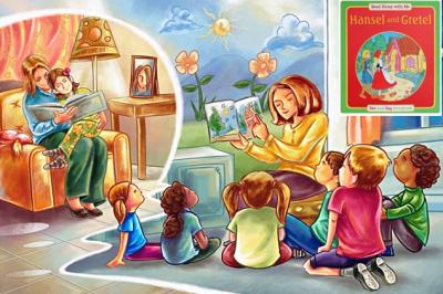 Reading For Kids: «Hansel and Gretel»