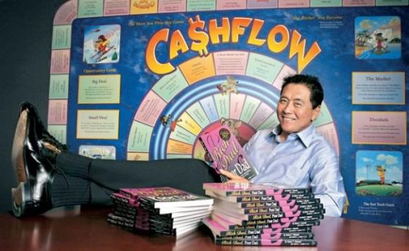 Presentation of financial board game «Cashflow»