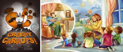 Чтение Для Детей На Английском: «Creepy Carrots!»