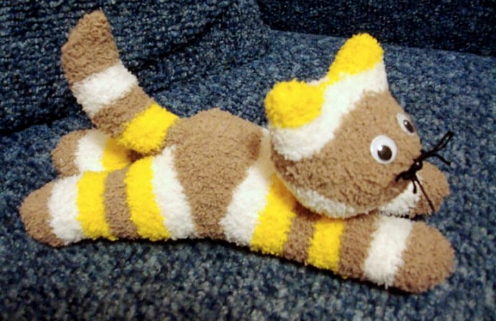 Kid Lab: Sock kitten