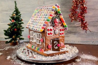 "Kid Lab: ""Gingerbread houses"""