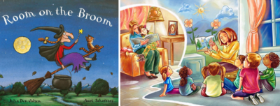 "Reading For Kids: ""Room on the broom"""