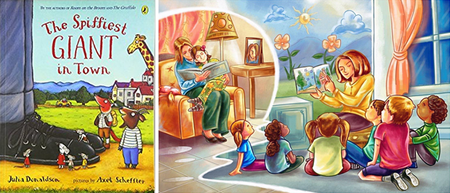 """Reading For Kids: """"The Spiffiest Giant in Town"""""""