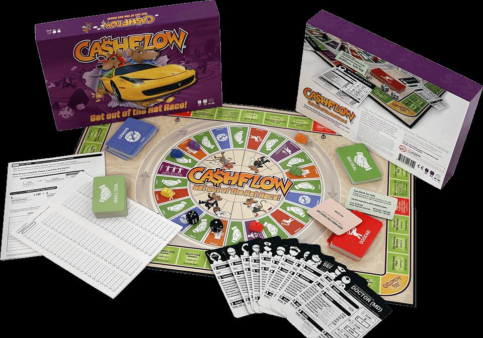 Financial board game «Cashflow»