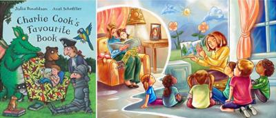 Чтение Для Детей На Английском: «Любимая книжка Чарли Кука»