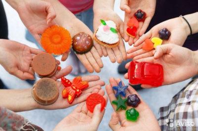 Лаборатория детского творчества: «Мыловарение»