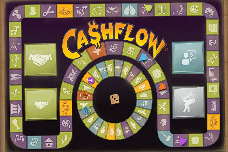 Финансовая настольная игра «Денежный поток»