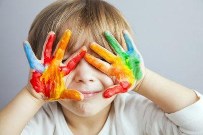 Мастер-класс по живописи гуашью для детей «Рисуем Жирафа»
