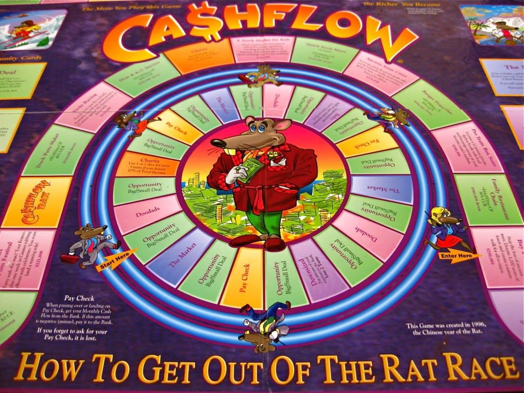 Financial board game «Cashflow»