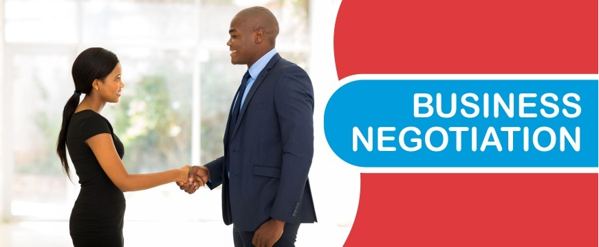 The art of business negotiations in English