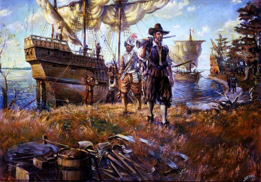 Презентация «История Америки, часть I»