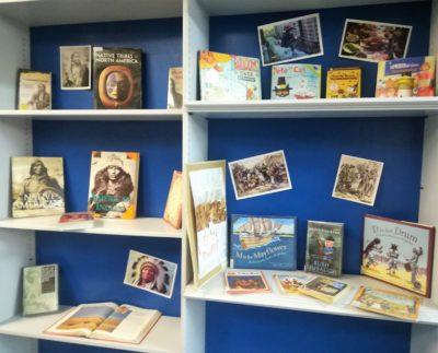 Выставка книг ко Дню Благодарения