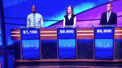 "Quiz game: ""Jeopardy"""