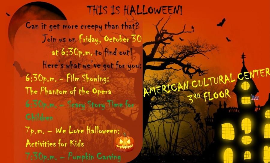 Celebrate Halloween with us!