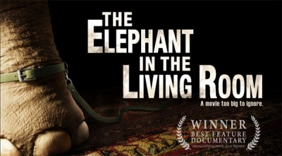"Friday Movies: ""The Elephant in the Living Room"" (2011, 96 min.)"