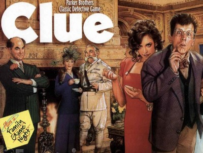 "Let's play ""Clue ""game"