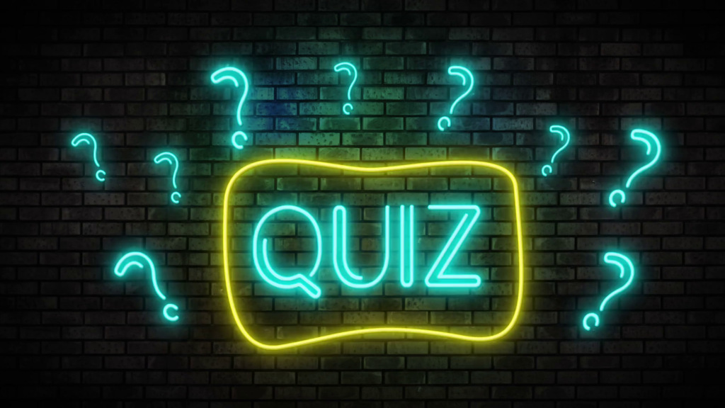 Quiz in English: «The enQuizition»