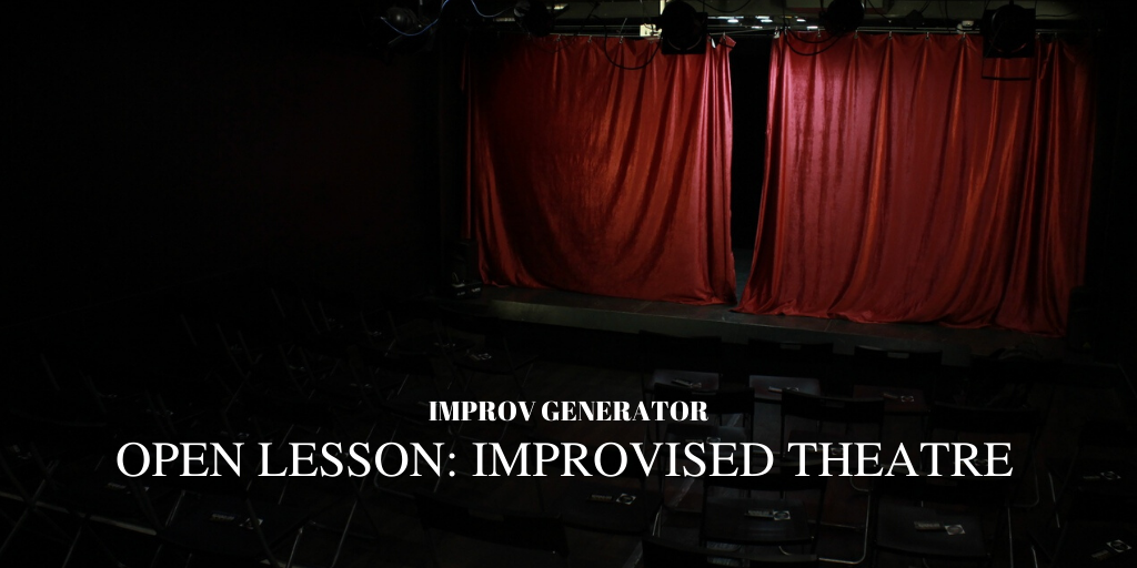 Открытый урок по импровизации