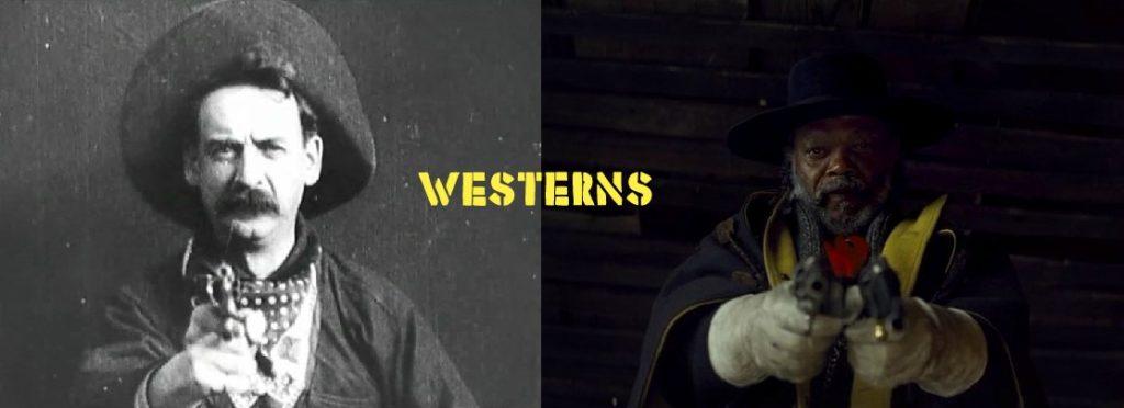 """1-я лекция из цикла """"Вестерны: История жанра от «Великого ограбления поезда» до Тарантино""""."""